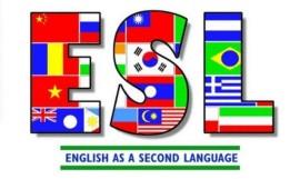 E S L English Second Language symbol