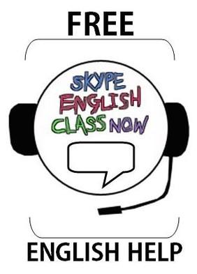 Skype English Class - English Help